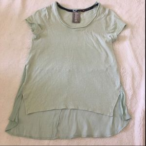 Anthropologie Mint Green Top